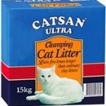 Catsan Ultra Clumping Clay Litter