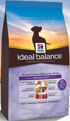 Hill's Ideal Balance Mature Adult Natural Chicken & Brown Rice