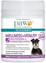Paw Wellness And Vitality Multivitamin Chews