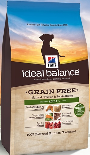 Ideal Balance Dog Food >> Hill S Ideal Balance Adult Grain Free Natural Chicken Potato