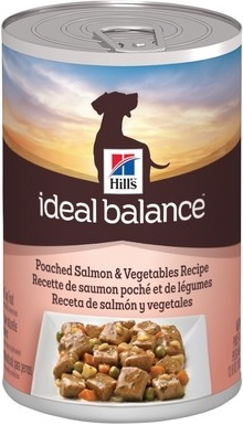 Hill's Ideal Balance Poached Salmon & Vegetables (cans)