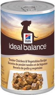 Hill's Ideal Balance Tender Chicken & Vegetables (cans)